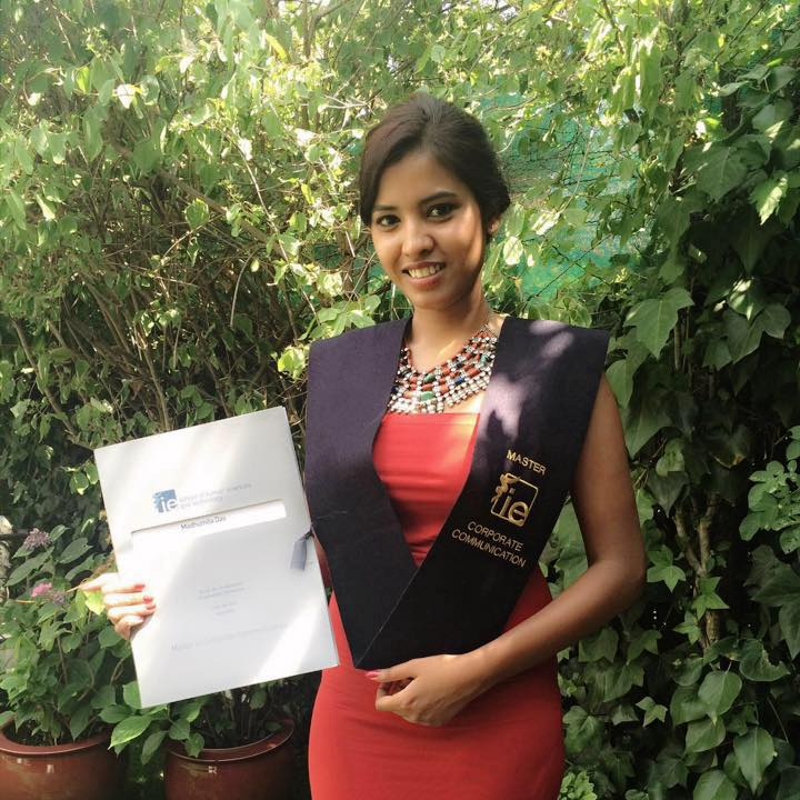 Madhumita graduated from the Master in Corporate Communication of IE University