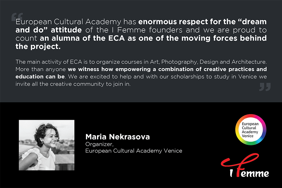 European Cultural Academy Venice gives scholarships to I FEMME supporters